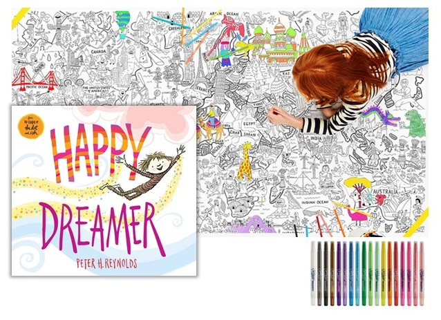 "Book ""Happy Dreamer"" #HappyDreamer @Scholastic (& Giveaway Ends 5/5)"