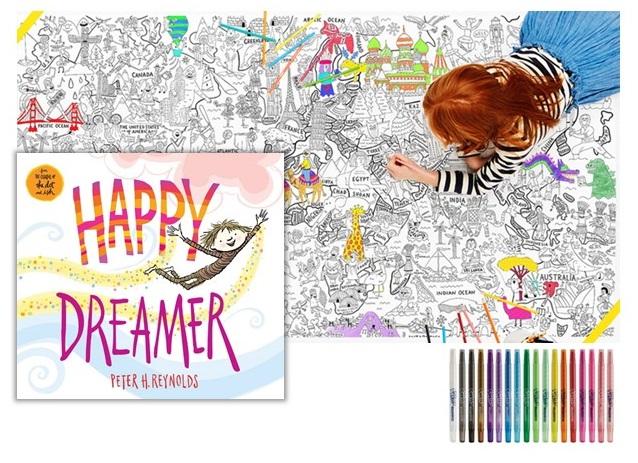 "Book ""Happy Dreamer"" #HappyDreamer @Scholastic"