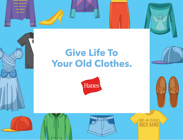 Join Hanes This Month in Celebrating Earth Day #UnderwearOnUs