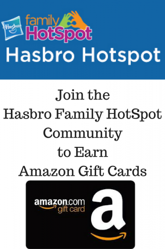 Join the Hasbro HotSpot Community to Earn Amazon Gift Cards #ad