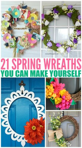 21 Spring Wreaths You Can Make Yourself