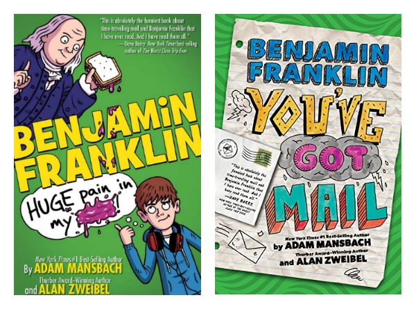 "Book ""Benjamin Franklin: You've Got Mail"""