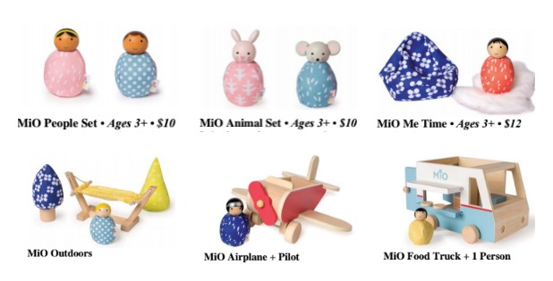 Fun With MiO Wooden Toys from The Manhattan Toy Company