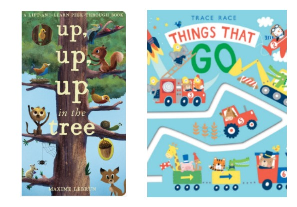 Interactive Toddler Books From Silver Dolphin