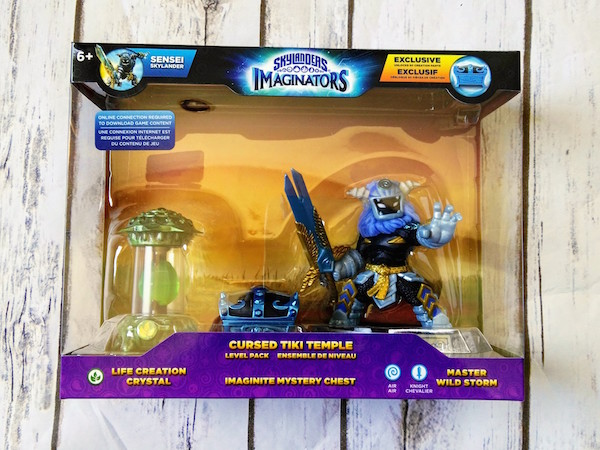 Skylanders Imaginators Cursed Tiki Temple Level Pack