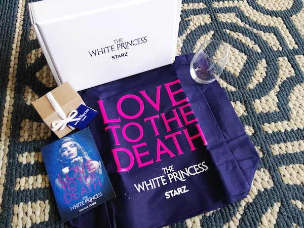 The White Princess, a STARZ Original Series = Love, Betrayal & Power (& Giveaway Ends 4/28)