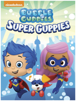 "DVD ""Bubble Guppies: Super Guppies"""