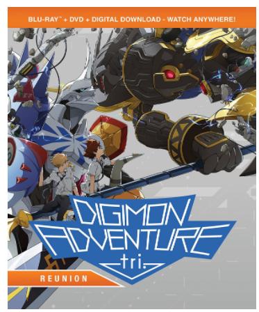 "DVD ""Digimon Adventure Tri.: Reunion"""
