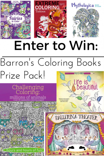 Unleashing Adult Creativity With Barron's Coloring Books and Prismacolor Pencils (& Giveaway Ends 5/29)