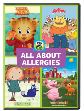 "DVD: ""PBS KIDS: All About Allergies"""