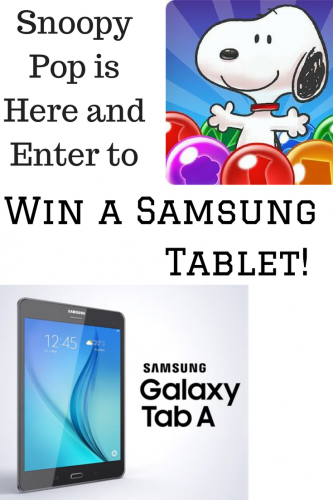 Popping Bubbles With Snoopy Pop & the Peanuts Gang #SnoopyPop #PopGoesTheSnoopy (& Samsung Tablet Giveaway 7/28)