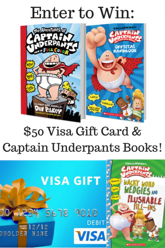 """Captain Underpants: The First Epic Movie"" #CaptainUnderpants (& Giveaway Ends 6/5)"