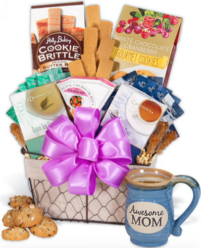 Give Mom a Gift Basket She Will Love This Mother's Day
