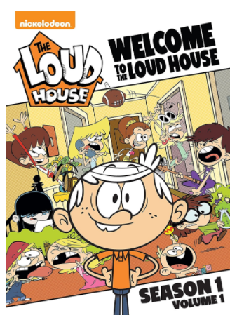 """Welcome to the Loud House: Season 1, Volume 1"""