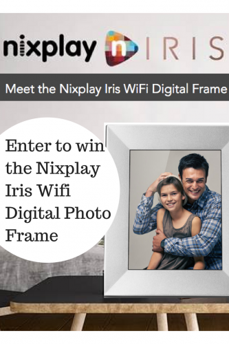 Stunning WiFi Digital Photo Frame From Nixplay (& Giveaway Ends 5/29)