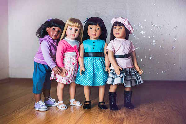 Multi-Ethnic Starpath Dolls With Personalized Adventure Books