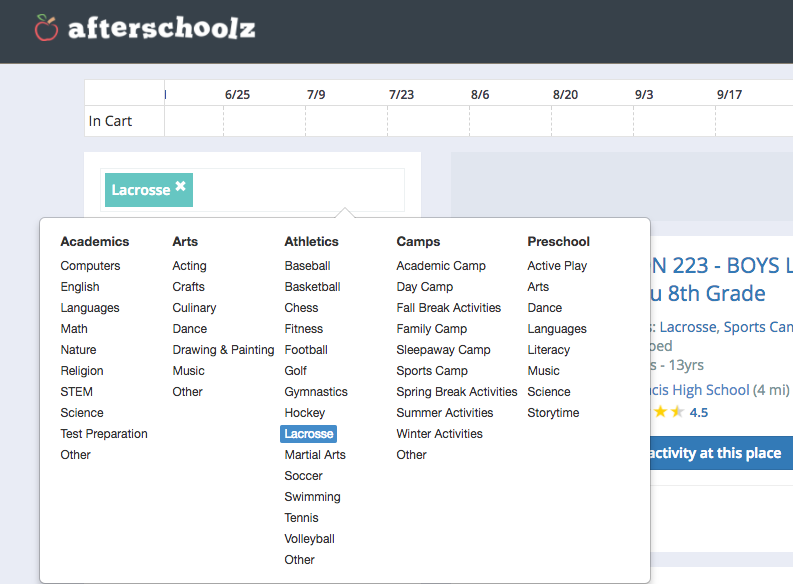 Find & Book Summer Activities in Chicagoland With Afterschoolz