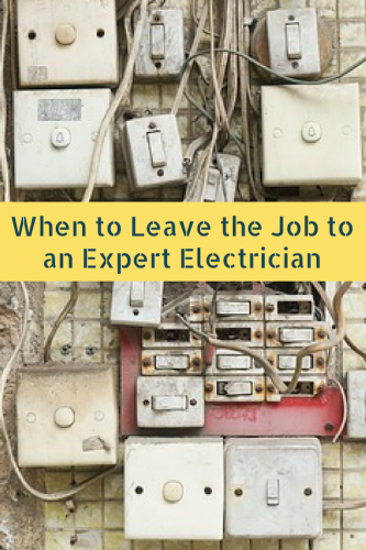 When to Leave the Job to an Expert Electrician