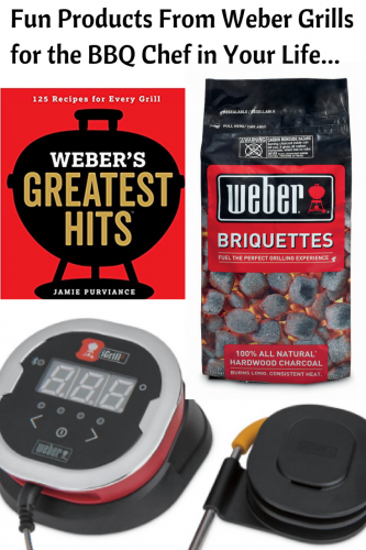 Weber Grills Gifts For the BBQ Chef in Your Family #webersgreatesthits