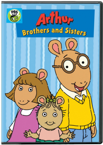 "DVD ""Arthur: Brothers and Sisters"""