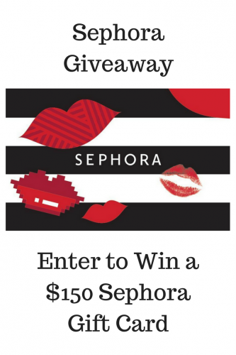 Sephora $150 Gift Card Giveaway (Ends 10/10)