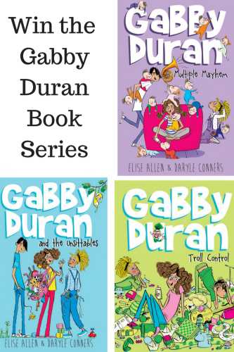 Meet the intergalactic Mary Poppins: Gabby Duran (& Giveaway Ends 7/28)