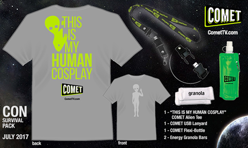 Godzilla, Sci-Fi Conventions & More at COMET TV @WatchComet (& Giveaway Ends 7/31)