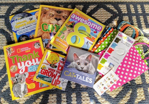 National Geographic Children's Books + Birthdays = Smiles! @NGKidsBooks