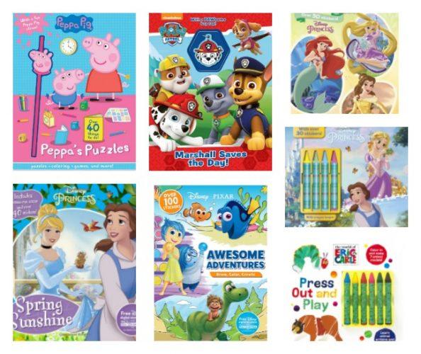 Parragon Books Starring Disney, Pixar, Peppa Pig, Paw Patrol & Eric Carle @ParragonBooks