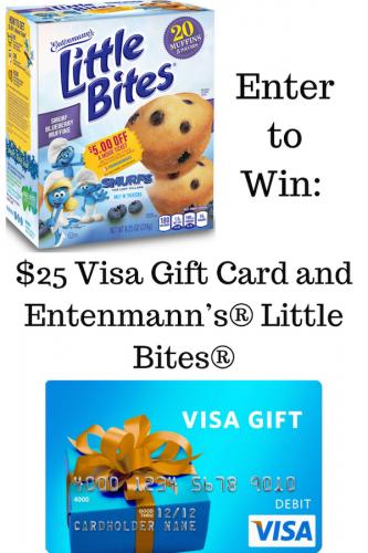 Entenmann's® Little Bites® + Smurfs = Blueberry Muffins #LoveLittleBites #SmurfsMovie (& $25 Visa Giveaway Ends 7/31)