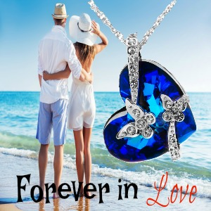 Showing Love With a Butterfly Swarovski Pendant