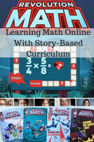 Learning Math Online With Story-Based Curriculum #RevolutionMath @revolution_math