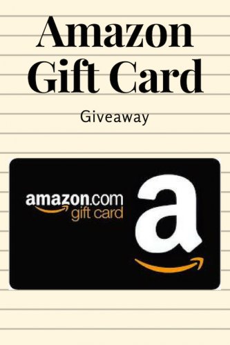Amazon Giveaway (Ends 3/28)