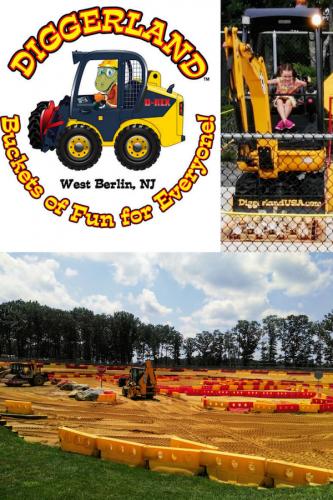 A Construction Truck Themed Park? Meet Diggerland.