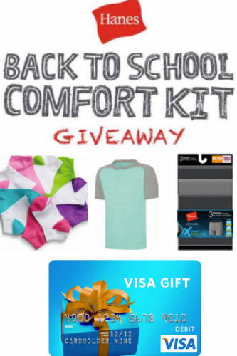 5 Tips For Getting Your Kids Ready for Back to School #HappyInHanes (& Giveaway Ends 9/25)