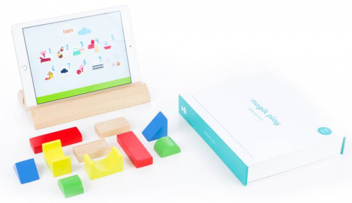 Wooden Block + iPad = Engaging Play Time With Magik Play