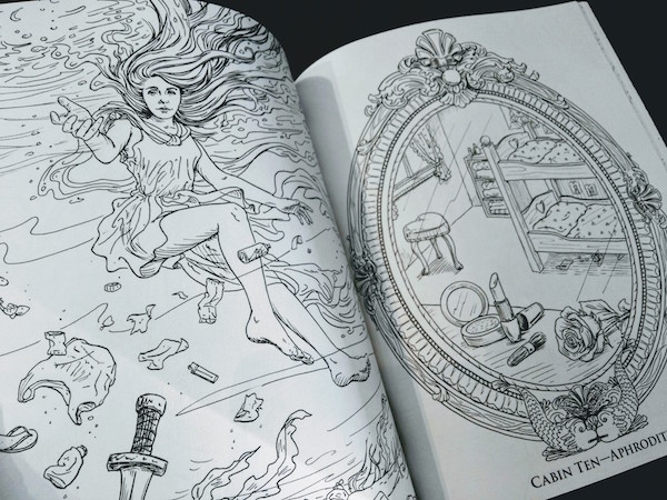 Demigods Brandish Your Colored Pencils Pjcoloringbook Mom And More