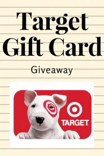 Target Gift Card Giveaway (Ends 9/8)