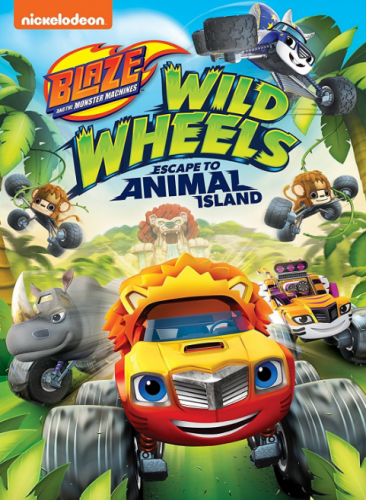 """Blaze and the Monster Machines: Wild Wheels Escape to Animal Island"""