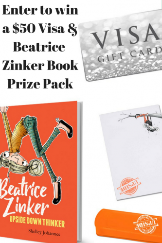 Go On a Mission with Beatrice Zinker #BeatriceZinker #UpsideDownThinker