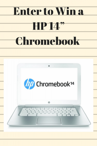 Chromebook Giveaway (Ends 10/10)