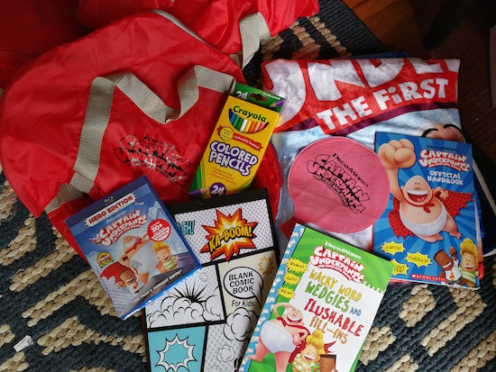 """Captain Underpants: The First Epic Movie"" Has Arrived & Some Sleepover Fun #CaptainUnderpantsHE #TraLaLaa"