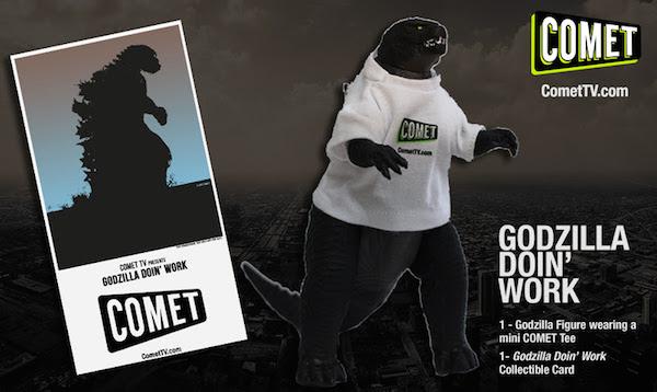 Godzilla is taking over COMET TV! @WatchComet (& Giveaway Ends 10/2)