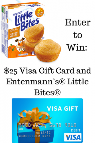 Entenmann's® Little Bites® Pumpkin Muffins Have Arrived #LoveLittleBites (& $25 Visa Giveaway Ends 10/2)