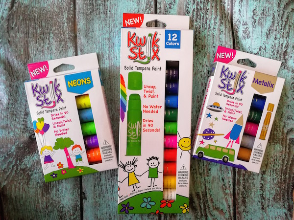 Creating Paint Masterpieces Without the Mess With Kwik Stix