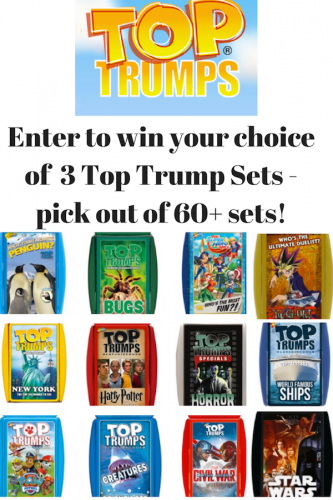Top Trumps Cards for Budget-Friendly Entertainment Anywhere (& Giveaway Ends 10/6)