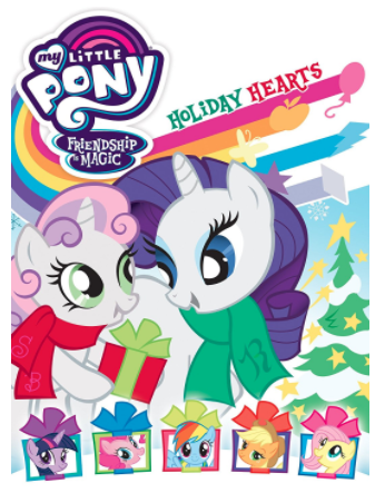 "DVD ""My Little Pony: Friendship Is Magic: Holiday Hearts"""