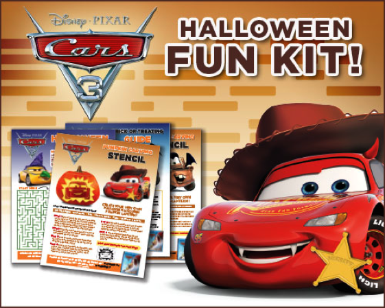 CARS 3 is Now Available & Some Free Halloween Activities