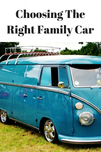 Choosing The Right Family Car