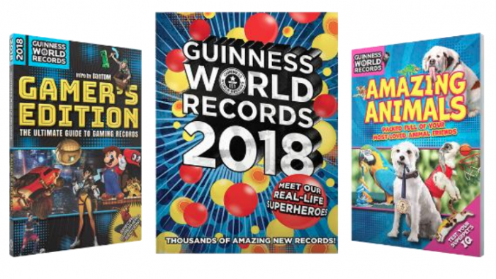 New Guinness World Records 2018 (& Giveaway Ends 12/1)